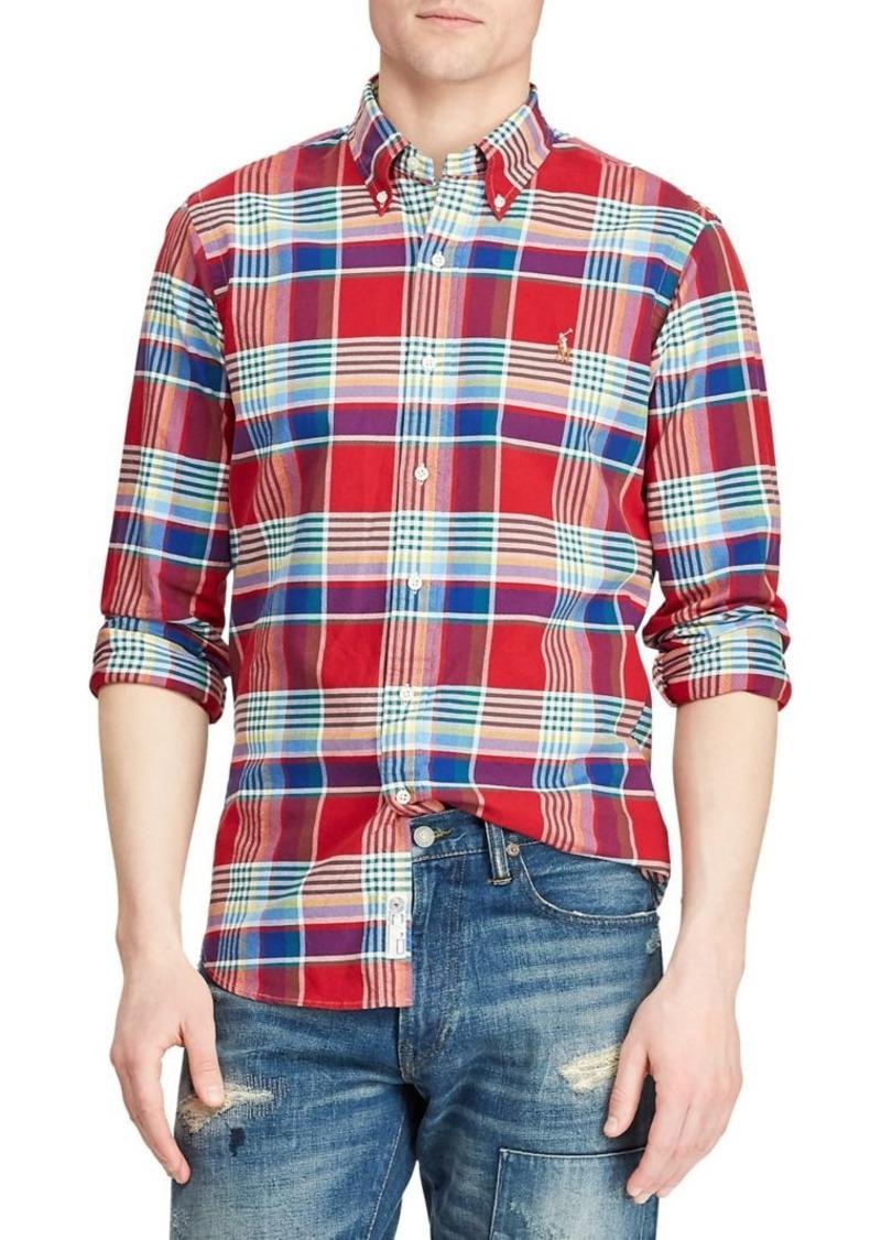 Ralph Lauren Polo Polo Ralph Lauren Classic-Fit Plaid Oxford Shirt