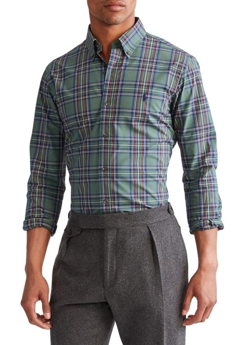 Ralph Lauren Polo Polo Ralph Lauren Classic-Fit Plaid Poplin Shirt