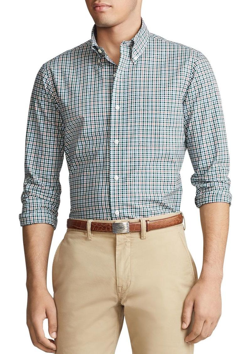 Ralph Lauren Polo Polo Ralph Lauren Classic Fit Plaid Poplin Shirt