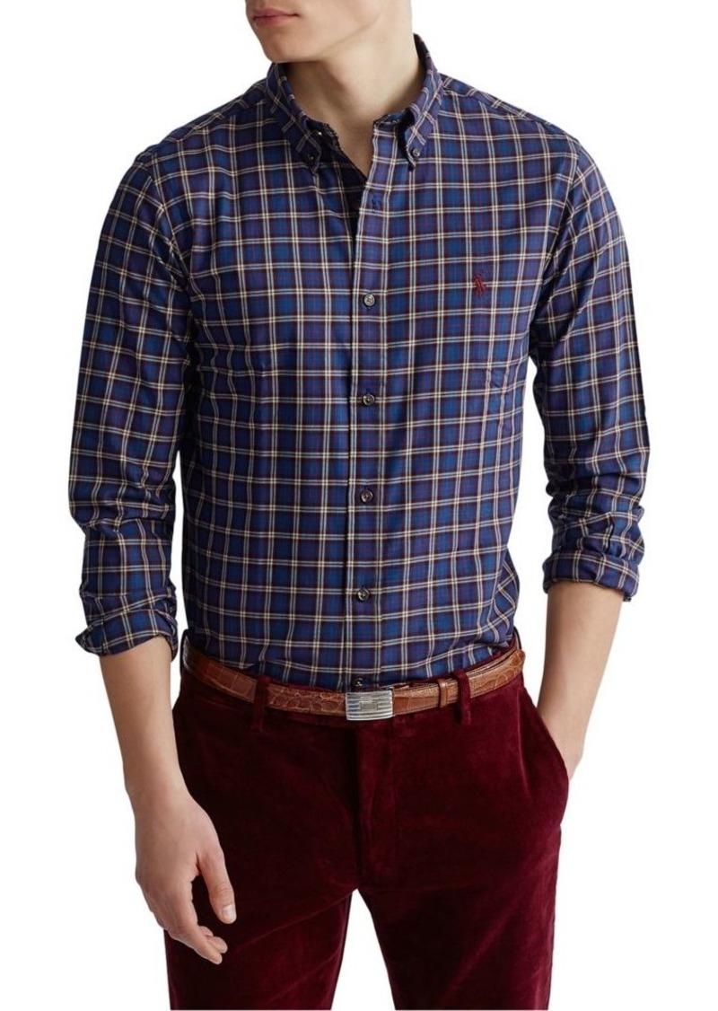 Ralph Lauren Polo Polo Ralph Lauren Classic-Fit Plaid Twill Shirt