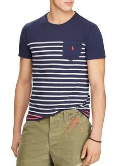 Ralph Lauren Polo Polo Ralph Lauren Classic Fit Striped Jersey Crewneck Tee
