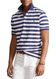 Ralph Lauren Polo Polo Ralph Lauren Classic Fit Striped Jersey Polo Shirt