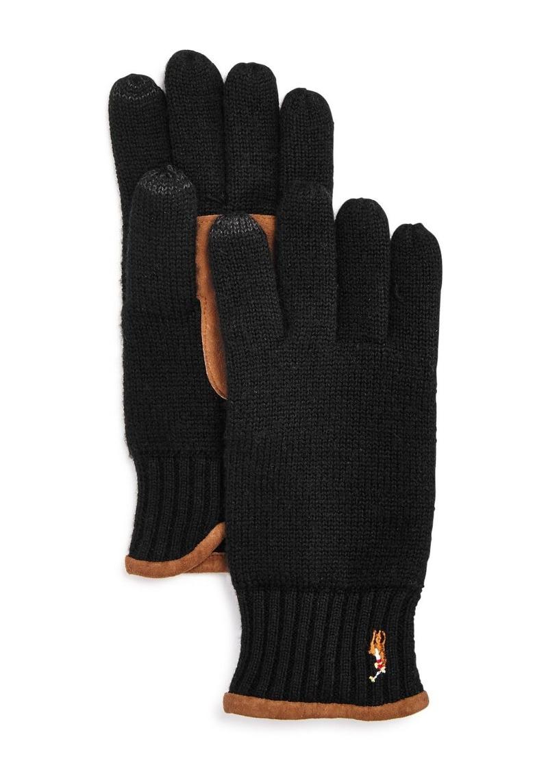 Ralph Lauren Polo Polo Ralph Lauren Classic Lux Merino Touch Gloves