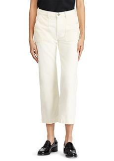 Ralph Lauren: Polo Polo Ralph Lauren Cotton-Blend Wide-Leg Pants