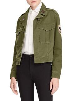 Ralph Lauren: Polo Cotton Button-Front Jacket
