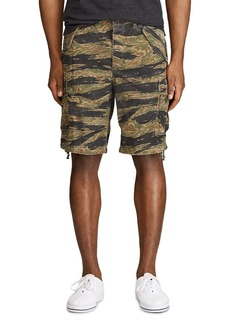Ralph Lauren Polo Polo Ralph Lauren Cotton Camouflage Classic Tapered Fit Cargo Shorts