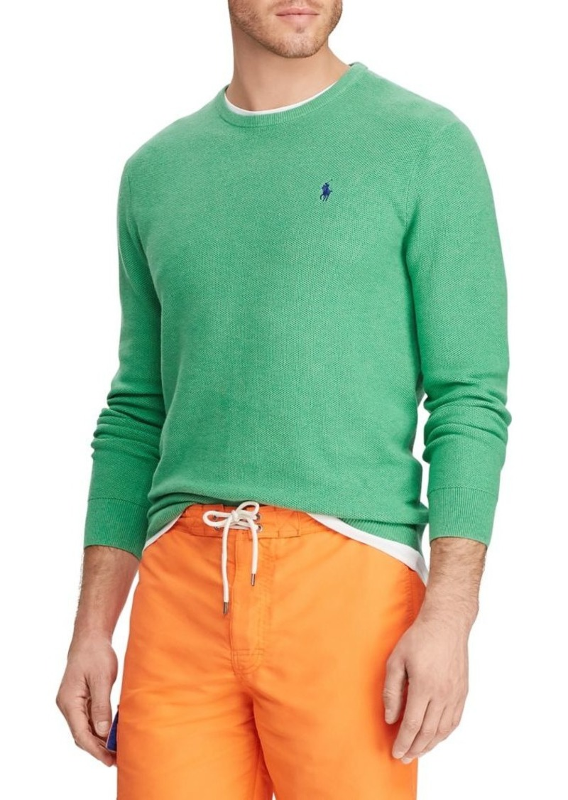Ralph Lauren Polo Polo Ralph Lauren Cotton Crewneck Sweater
