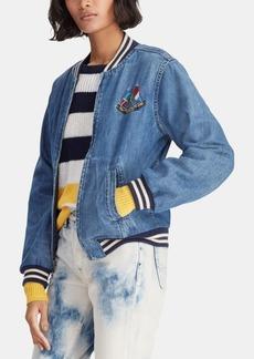 Ralph Lauren: Polo Polo Ralph Lauren Cotton Denim Bomber Jacket
