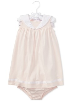 Ralph Lauren: Polo Polo Ralph Lauren Cotton Dress, Baby Girls