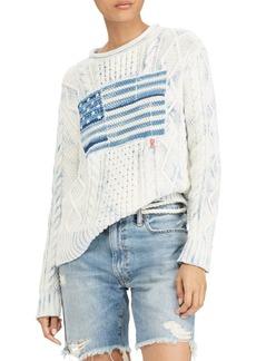 Ralph Lauren: Polo Cotton Flag Sweater