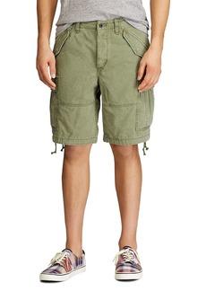 Ralph Lauren Polo Polo Ralph Lauren Cotton Indigo Classic Tapered Fit Cargo Shorts