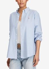 Ralph Lauren: Polo Polo Ralph Lauren Cotton Oxford Big Shirt