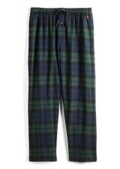 Ralph Lauren Polo Polo Ralph Lauren Plaid Cotton Flannel Pajama Pants