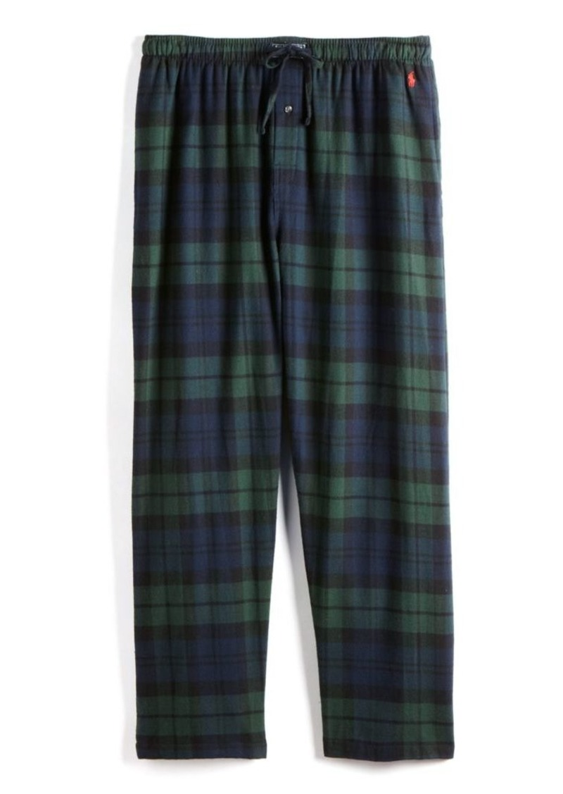Ralph Lauren Polo Polo Ralph Lauren Plaid Cotton Flannel Pajama Pants
