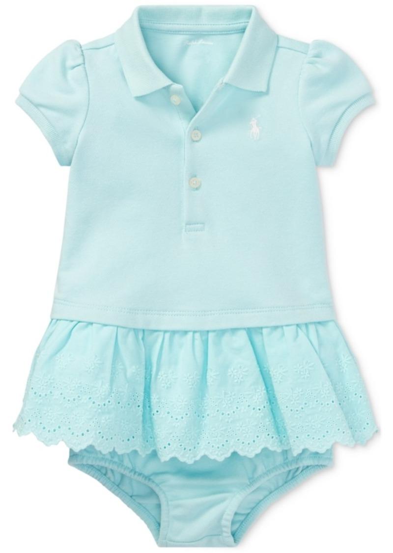 Ralph Lauren Polo Polo Ralph Lauren Cotton Polo Dress Baby Girls