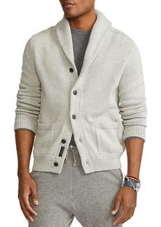 Ralph Lauren Polo Polo Ralph Lauren Cotton Shawl Collar Cardigan