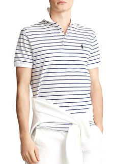 Ralph Lauren Polo Polo Ralph Lauren Custom Slim Stretch Mesh Polo Shirt