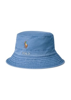 Ralph Lauren Polo Polo Ralph Lauren Cotton Stretch Twill Bucket Hat