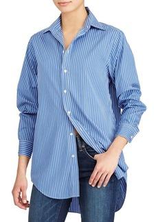 Ralph Lauren: Polo Polo Ralph Lauren Cotton Striped Long-Sleeve Top