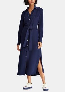 Ralph Lauren: Polo Polo Ralph Lauren Crepe Shirtdress