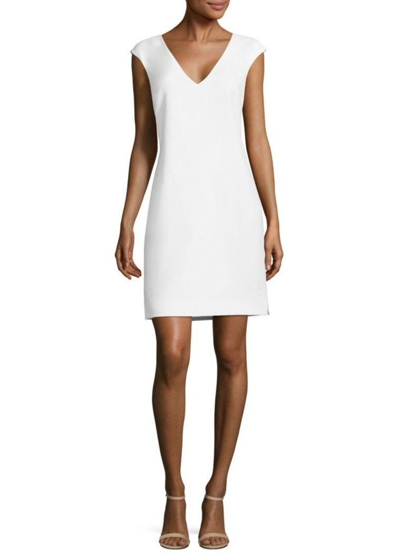 Ralph Lauren: Polo Polo Ralph Lauren Crepe V-Neck Shift Dress