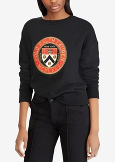 Ralph Lauren: Polo Polo Ralph Lauren Crest Fleece Pullover