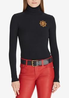 Ralph Lauren: Polo Polo Ralph Lauren Crest Turtleneck Sweater