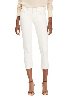 Ralph Lauren: Polo Cropped Straight Jeans