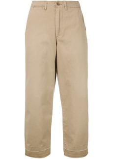 Ralph Lauren: Polo Polo Ralph Lauren cropped trousers - Nude & Neutrals