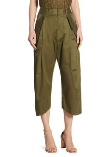 Polo Ralph Lauren Cropped Wide-Leg Chinos