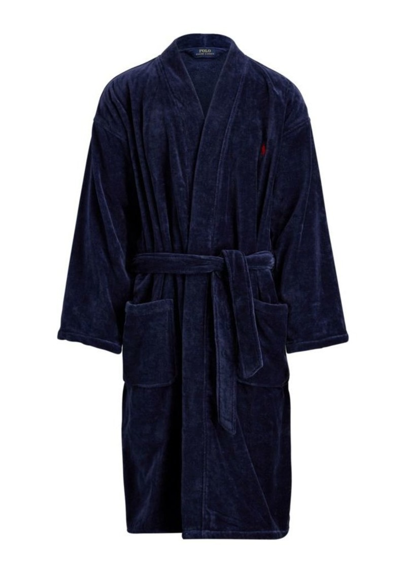 Ralph Lauren Polo Polo Ralph Lauren Big & Tall Cotton Robe