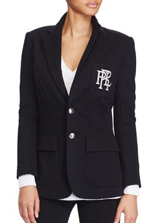 Ralph Lauren: Polo Polo Ralph Lauren Custom-Fit Two-Button Fleece Blazer