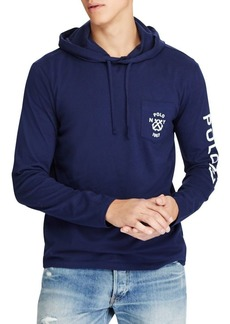 Ralph Lauren Polo Polo Ralph Lauren Custom Slim-Fit Hooded Cotton Tee