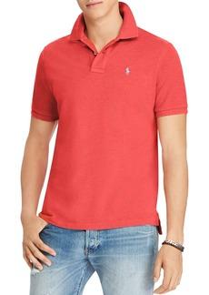 Ralph Lauren Polo Polo Ralph Lauren Custom Slim Fit Mesh Short Sleeve Polo Shirt