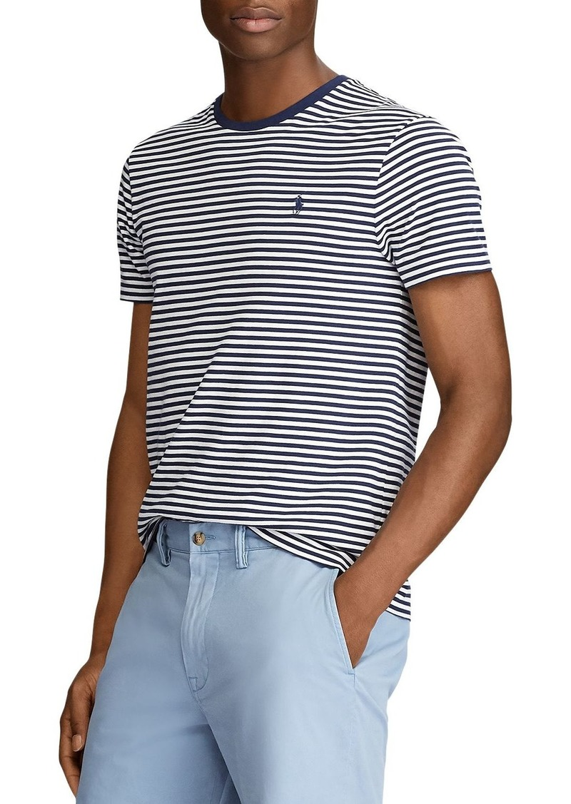 Ralph Lauren Polo Polo Ralph Lauren Custom Slim Fit Striped Tee
