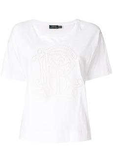 Ralph Lauren: Polo cut out logo T-shirt
