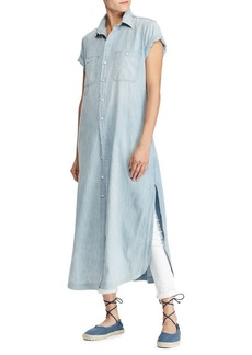 Ralph Lauren: Polo Polo Ralph Lauren Denim Maxi Dress