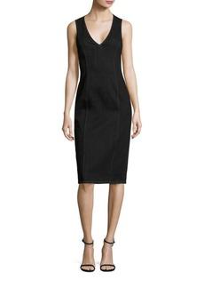 Polo Ralph Lauren Denim Sheath Dress