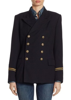 Ralph Lauren: Polo Double-Breasted Military Jacket