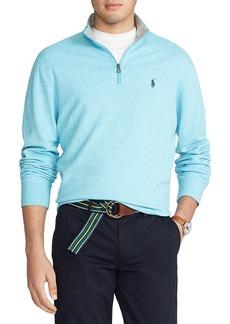 Ralph Lauren Polo Polo Ralph Lauren Double Knit Quarter-Zip Pullover
