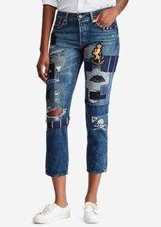 Ralph Lauren: Polo Polo Ralph Lauren Embroidered Boyfriend Jeans