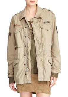 Ralph Lauren: Polo Embroidered Combat Jacket