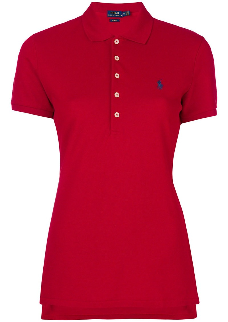 Ralph Lauren: Polo embroidered logo polo shirt