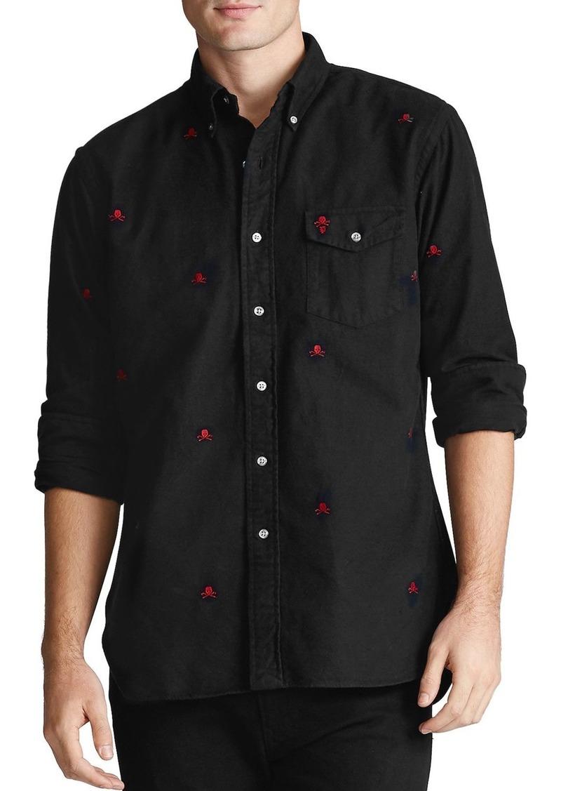 Ralph Lauren Polo Polo Ralph Lauren Embroidered Oxford Classic Fit Shirt