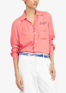 Ralph Lauren: Polo Polo Ralph Lauren Embroidered Twill Shirt