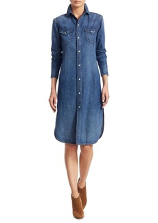 Ralph Lauren: Polo Faded Cotton Shirtdress