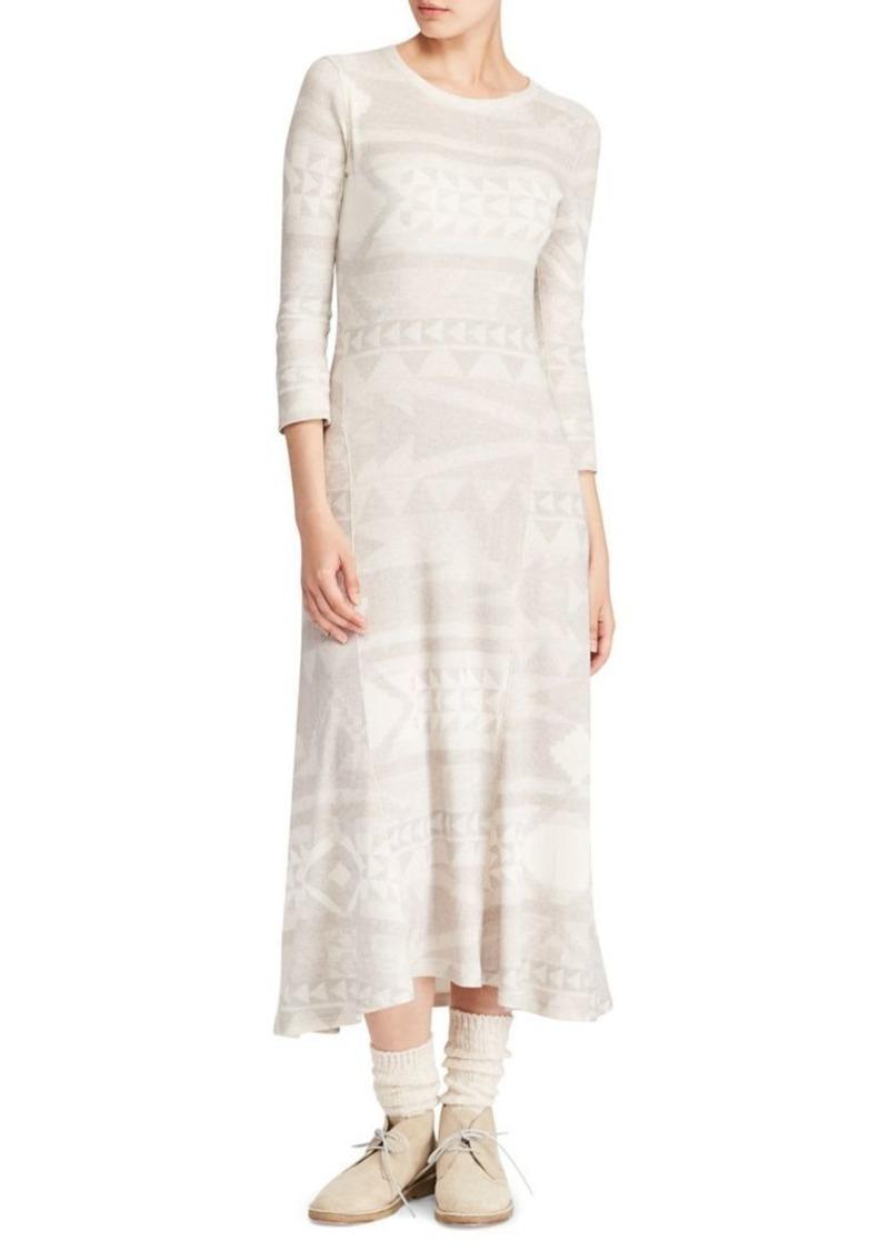 Ralph Lauren: Polo Fairisle Midi Dress