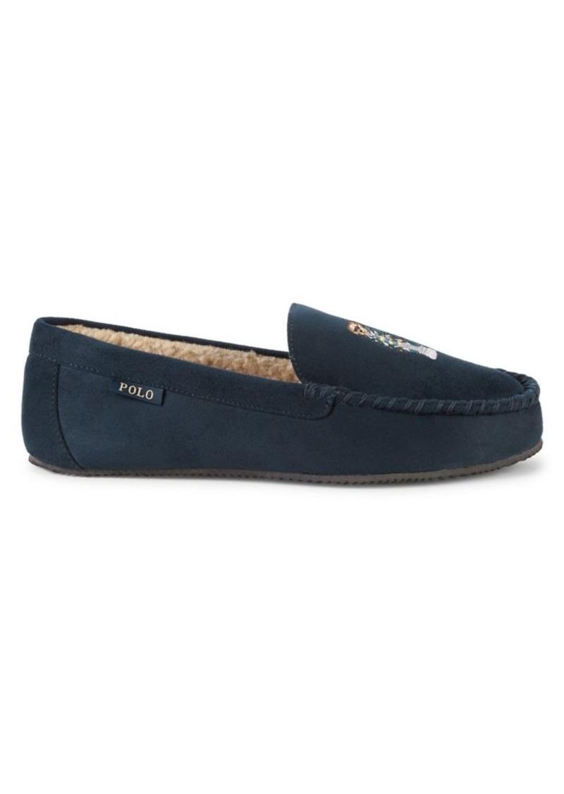 Ralph Lauren Polo Polo Ralph Lauren Faux-Fur Lined Slippers