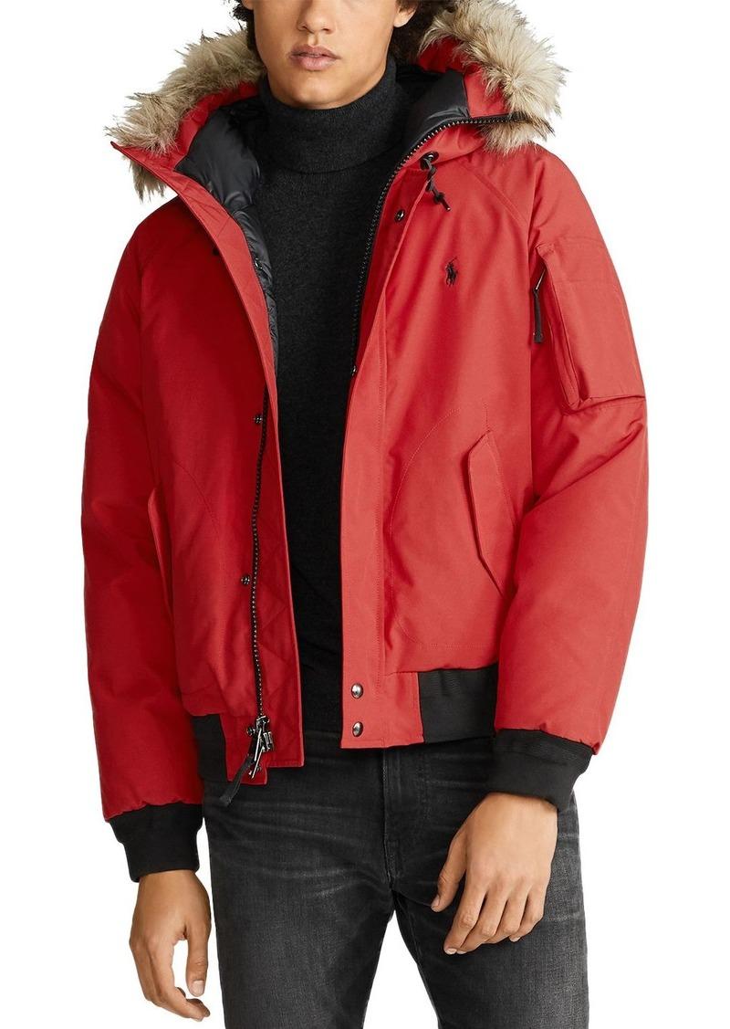 Ralph Lauren Polo Polo Ralph Lauren Faux-Fur-Trim Down Jacket