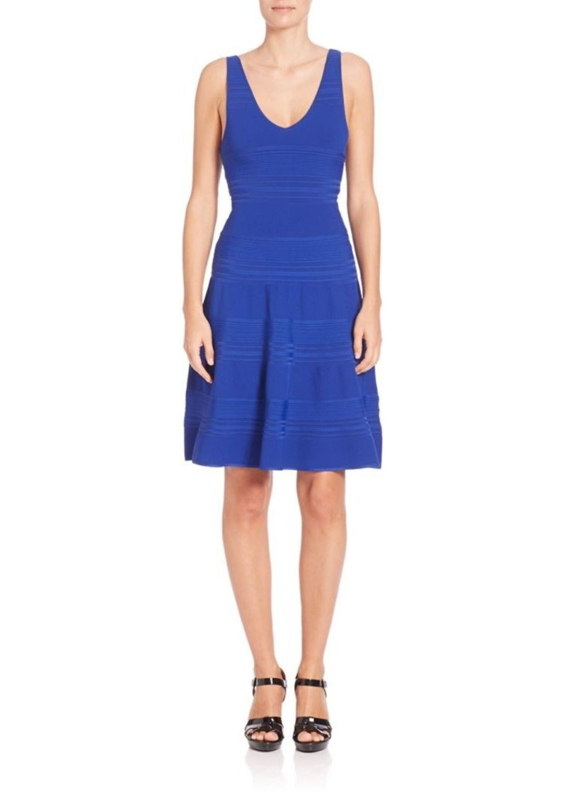 Ralph Lauren: Polo Polo Ralph Lauren Fit-and-Flare V-Back Dress